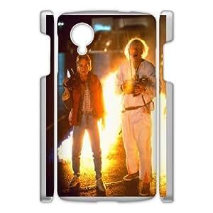 Google Nexus 5 Phone Case White Back-To-The-Future DTW8073956