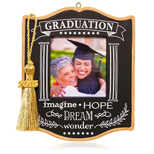 Hallmark QHX1089 Graduation Photo Holder Keepsake Ornament
