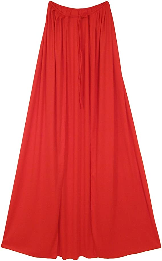 """SeasonsTrading 60"""" Adult Red Cape - Halloween Costume Party Dress Up"""