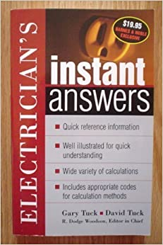 Book Electrician's Instant Answers