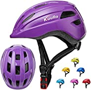 Kids Helmet Toddler Bike Helmet Adjustable Child Helmet for Kids Youth 3-14 Years Old Girls Boys Roller Cyclin