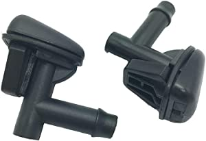 ZM Auto Parts Windshield Wiper Cleaning Water Spray Jet Washer Nozzle PAIR with 2 pcs fits 2000-2007 Ford Taurus Mecury Sable Cross OE Ref# YF1Z17603AAA