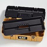 Cat Premium Plastic Portable Tool Box with Lid
