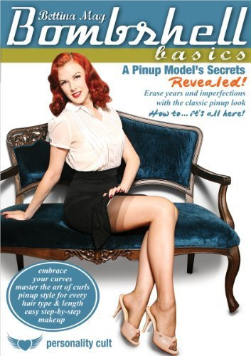 Bombshell Basics: Pinup Modeling Secrets Revealed, with Bettina May: Hair styling and make-up instruction, retro costume how-to by World Dance New York -
