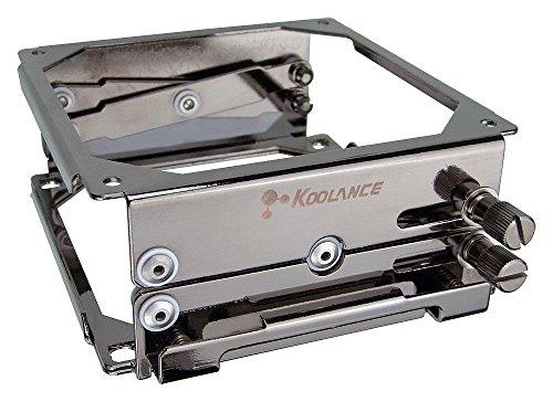 (Koolance BKT-HX001 Radiator Mounting Bracket with Quick-Release )