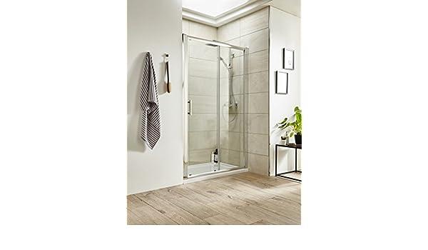 Portadas de ducha UK - 1600 mm deslizante doble para mampara de ...