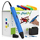 MorphPen Professional Drawing 3D Pen for Printing and Modeling (Blue)