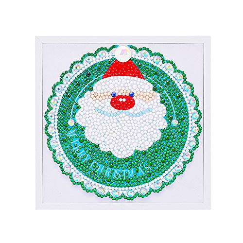 Alimao 2019 New Christmas Framed Diamond Painting Children's Handmade DIY Educational Toys A -