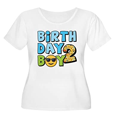 e6c96b4da23 CafePress Emoji Birthda Women s Plus Size Scoop Neck T Shirt Women s Plus  Size Scoop Neck T