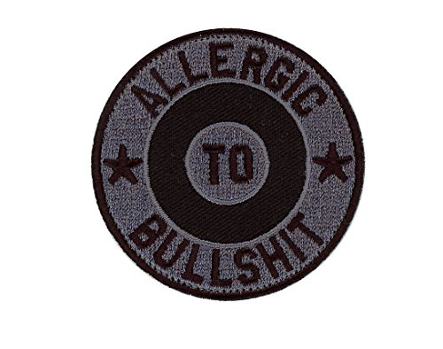 Hook Allergic to BullSh*t Morale Tactical Gear Rucking Patch