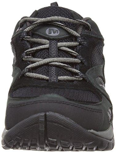 Merrell Azura Gtx - Zapatos De Senderismo De Cuero Mujer Black/Carbon