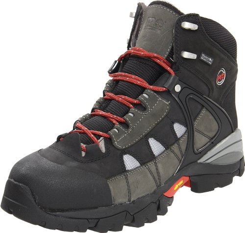 Timberland PRO Men's Hyperion Waterproof Work Boot,Gray/Gray,10 M US (Best Deal On Timberland Boots)