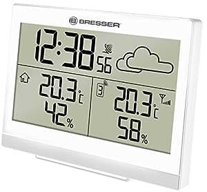 Estación meteorológica Bresser Temeo Trend LG, color blanco