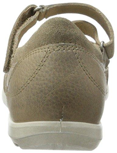 ECCO Cayla - Zapatos de cordones de cuero para mujer, color marrón