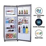 Godrej 260 L 3 Star Inverter Frost-Free Double Door Refrigerator (RF EON 260C 35 RCIF ST RH, Steel Rush, 6 in 1…
