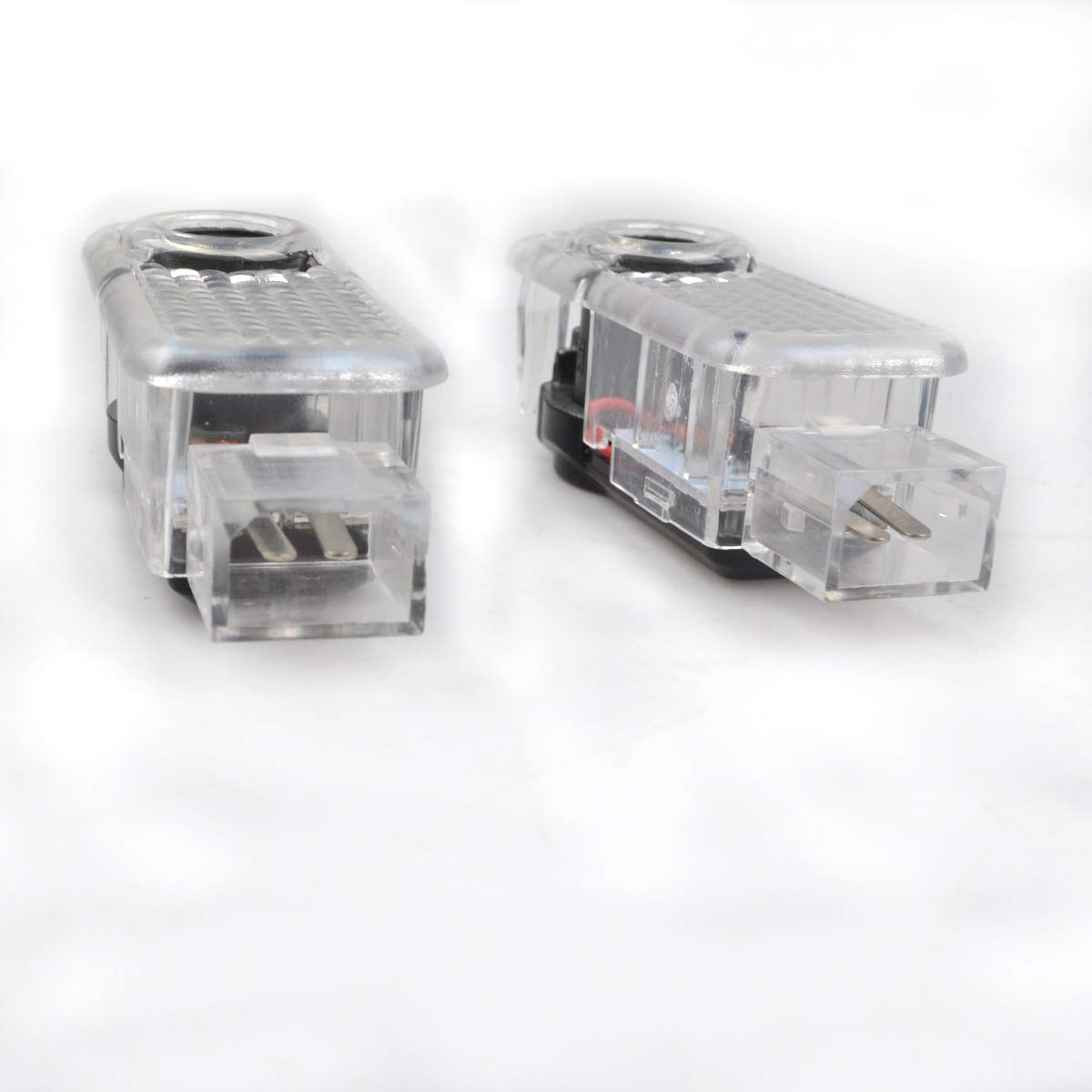 2pcs Car LED Door Logo Ghost Shadow Projector Courtesy Step Welcome Lights