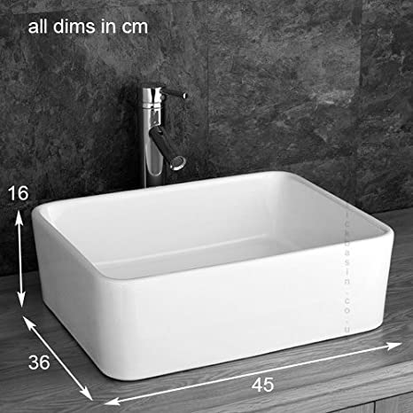 Clickbasin Cube Solid Oak Wide Three Drawer Single Sink