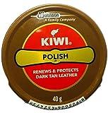 Kiwi Shoe Polish Paste Black and dark tan [Pack