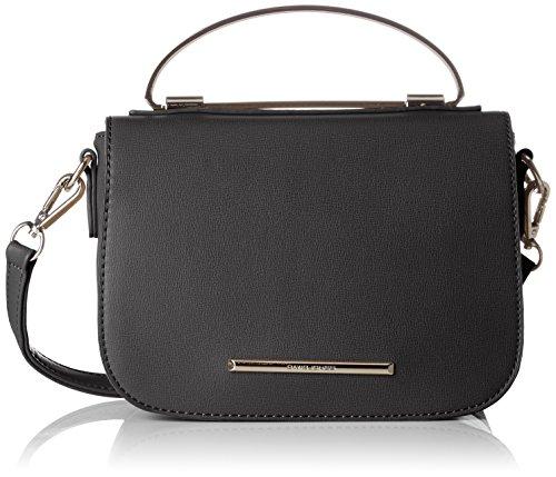 David Jones Women's 5638-1a Shoulder Bag Black (Black 5638-1a)