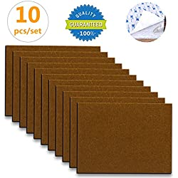 Furniture Pads   10 Pack ONu0027H Self Stick Felt Furniture Pads With 3M