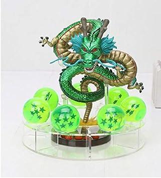 MWC Figura Dragon Shenron Verde Metalizado PVC Dragon Ball Z ...