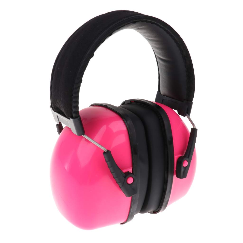 Fenteer Earmuffs Headband Noise Defenders Hearing Ear Protection - New - Pink, as described non-brand