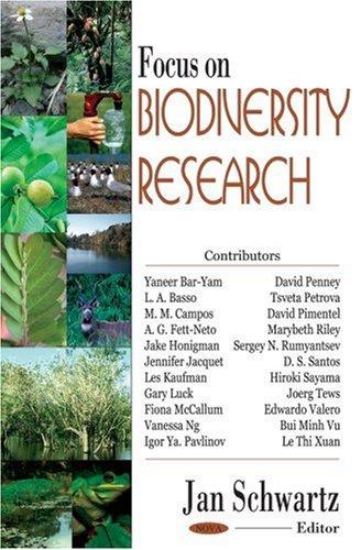 Focus on Biodiversity Research Jan Schwartz