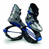 Kangoo Jumps Power Shoe (Kids) Silver and Blue, Boys 1- 3