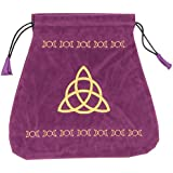 Triple Goddess Velvet Bag