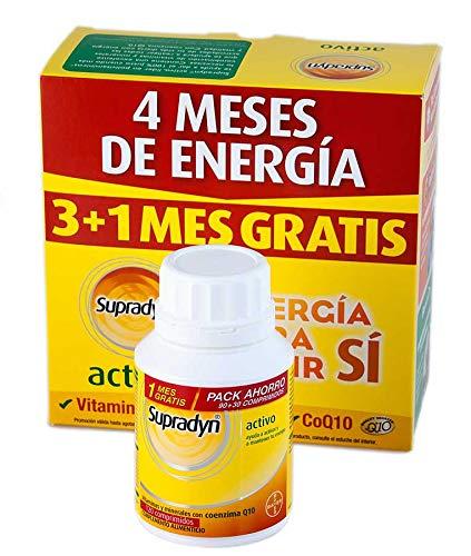Supradyn Activo 90 Comprimidos + 30 de Regalo product image