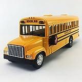 """KinsFun Large School Bus, 6"""""""
