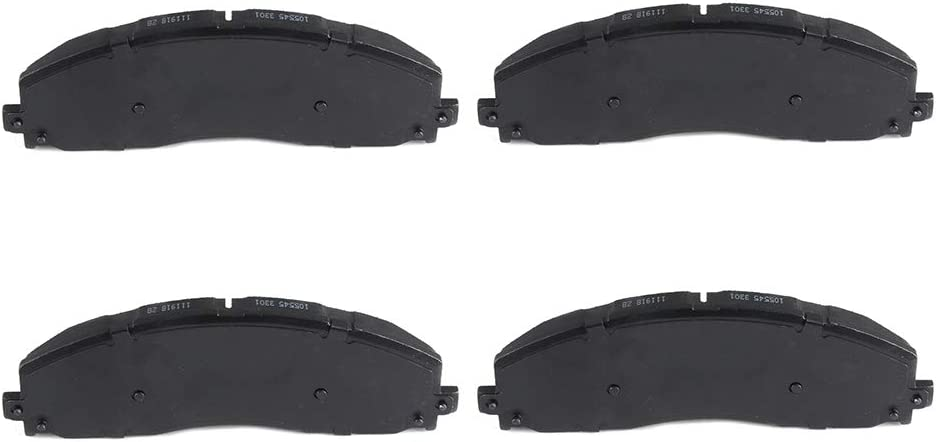 FRONT Ceramic Brake Pads Fits 02-04 Ford F-350 Super Duty