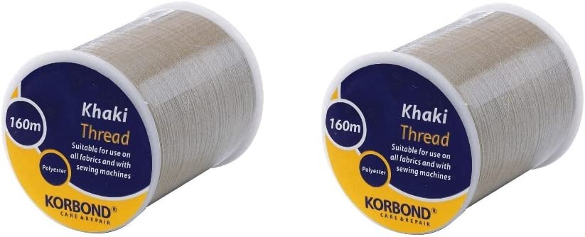 Green 160m Korbond Polyester Sewing Thread