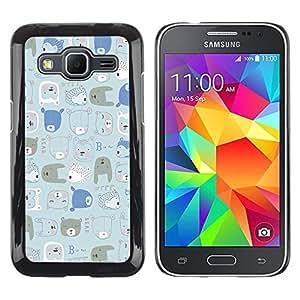 Dragon Case - FOR Samsung Galaxy Core Prime - our dreams come true - Caja protectora de pl??stico duro de la cubierta Dise?¡Ào Slim Fit