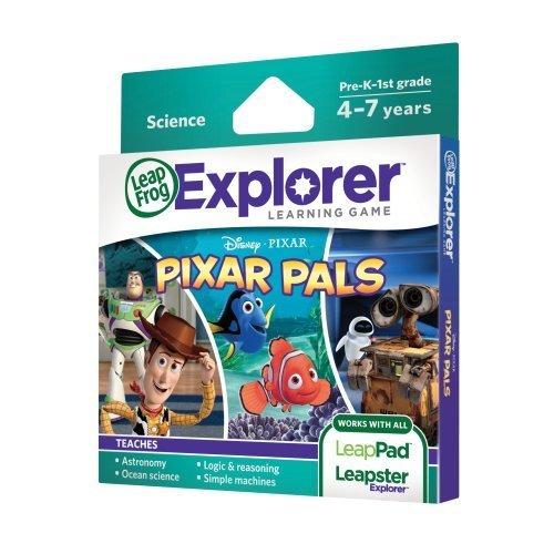 LeapFrog Explorer Learning Game Pixar Pals (works with LeapPad & Leapster Explorer) Children, Kids, Game