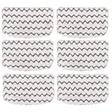 Tidy Monster 6 Pack Microfiber Steam Mop Pads Replacement for Shark Steam Mop S1000, S1000A, S1000C, S1000WM, and S1001C, Dirt Grip Cleaning Pads