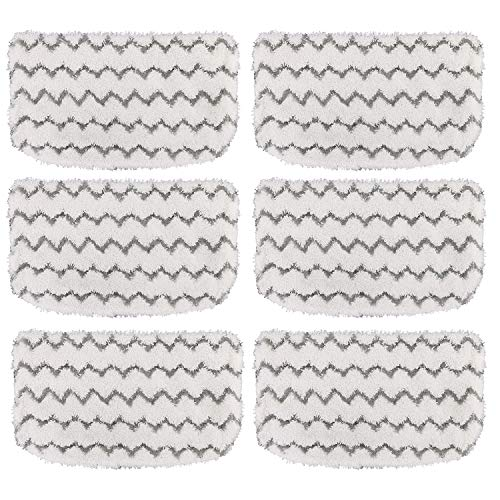 - Tidy Monster 6 Pack Steam Mop Pads Microfiber Replacement Mop Pads Refills for Shark Steam Mop S1000, S1000A, S1000C, S1000WM, and S1001C