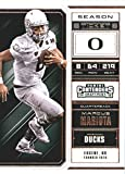 2018 Panini Contenders Draft Picks Season Ticket #68 Marcus Mariota Oregon Ducks Football Card