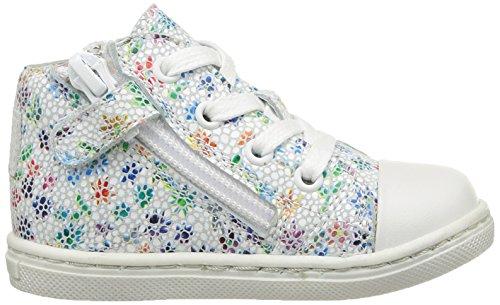 Aster Robyne - Zapatos de primeros pasos Bebé-Niños Blanco - Blanc (Blanc Fleur)