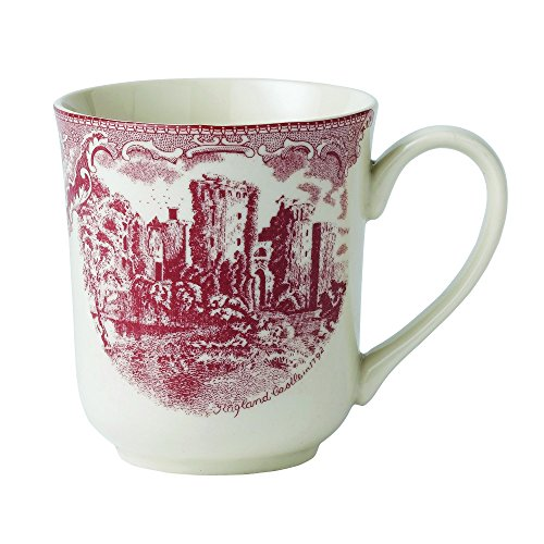 Johnson Brothers Castle - Johnson Brothers 2-42562-1153 Old Britain Castles Pink Mug, 10 ounce