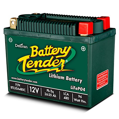 Mist Midnight Audio (Battery Tender BTL35A480C Lithium Iron Phosphate Battery)