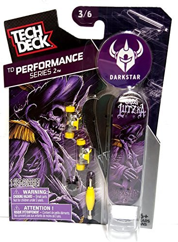Tech Deck TD Performance Series 2 Darkstar - Purple Skeleton 3/6