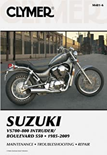 suzuki intruder marauder volusia and boulevard 85 to 09 haynes rh amazon com 2009 Suzuki M50 Accessories 2010 Suzuki M50