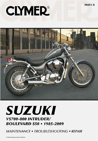 suzuki vs700 800 intruder boulevard s50 1985 2007 (clymer manuals 2007 Suzuki Boulevard M50 Windshield