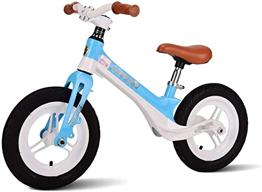 YANGYANGPHC Bicicleta de Equilibrio, clásica, Ligera, sin Pedales ...