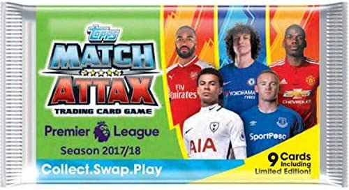 Match Attax Topps Premier League 2017/18 - Display mit 50 Booster - Nordic Edition: Amazon.es: Juguetes y juegos