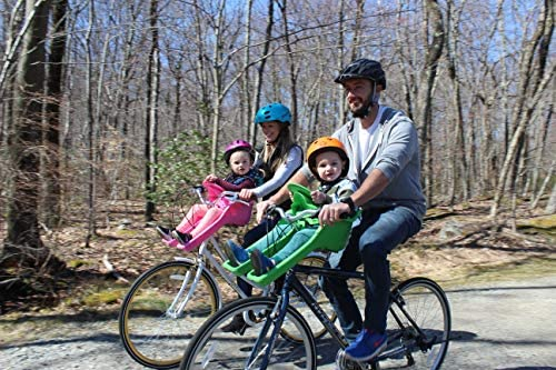 ibert Bike Safe-T-Seat Baby Child Front Bike Seat HALF PRICE $99 damaged box
