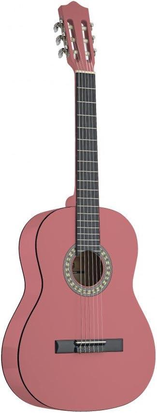 Stagg C530 Guitarra Clásica PK rosa