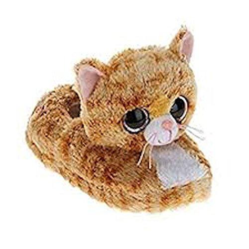 Ty Beanie Boo Beanie Boo Girls Slippers Faux Fur Cat Tabitha Slip On