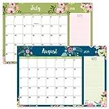2018/2019 Floral Fantasy Calendar Pad - 11'' x 16-1/4'', Runs from January 2018 to December 2019